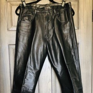 Other - Like New Men's Leather Pants Worn 1x Size 32 Waist